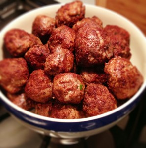 Italian Meatballs and Spaghetti Sauce