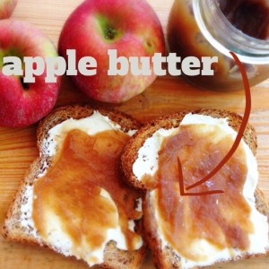 Sweet and Spicy Apple Butter