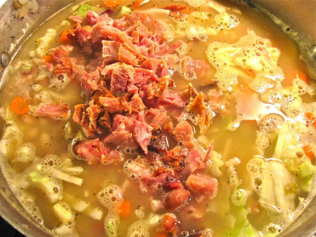 Soul Satisfying Ham & Bean Soup