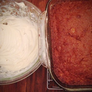 Dense and Luscious Carrot Cake