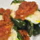 Polenta Stuffed Poblano Peppers