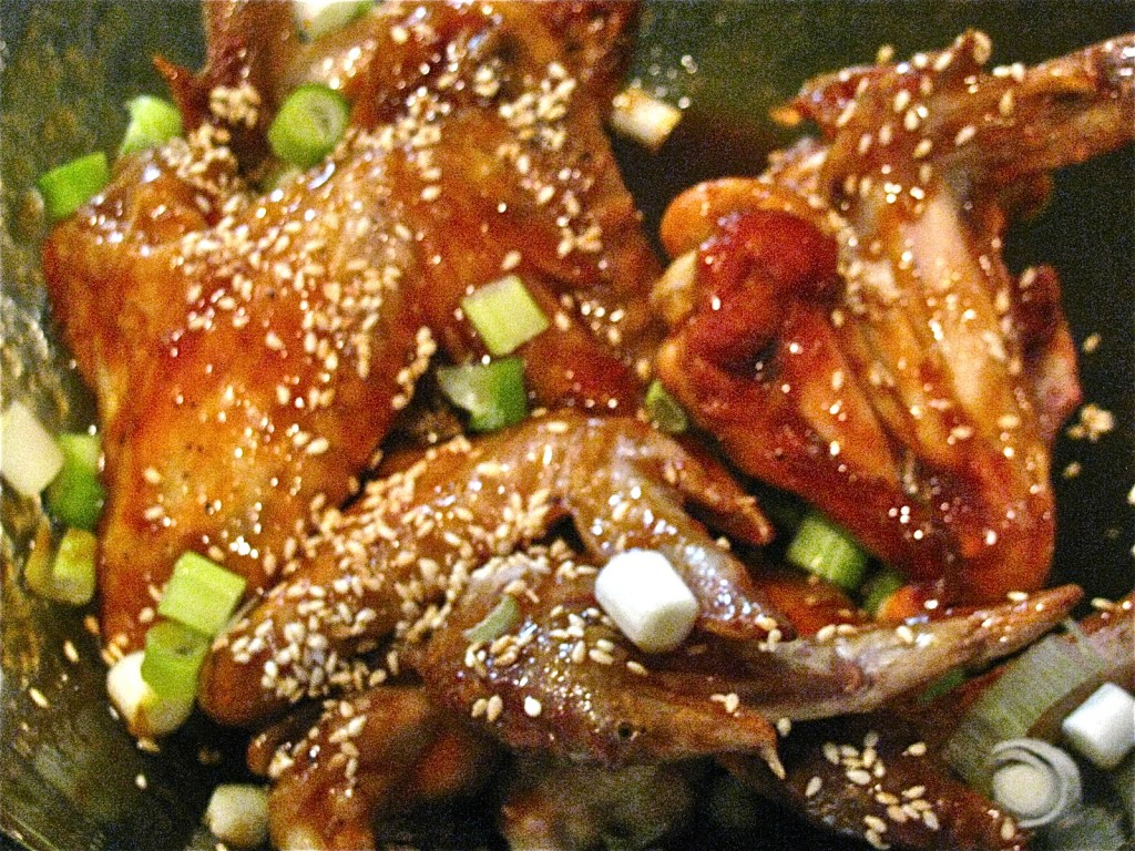 Terrific Teriyaki Chicken Wings