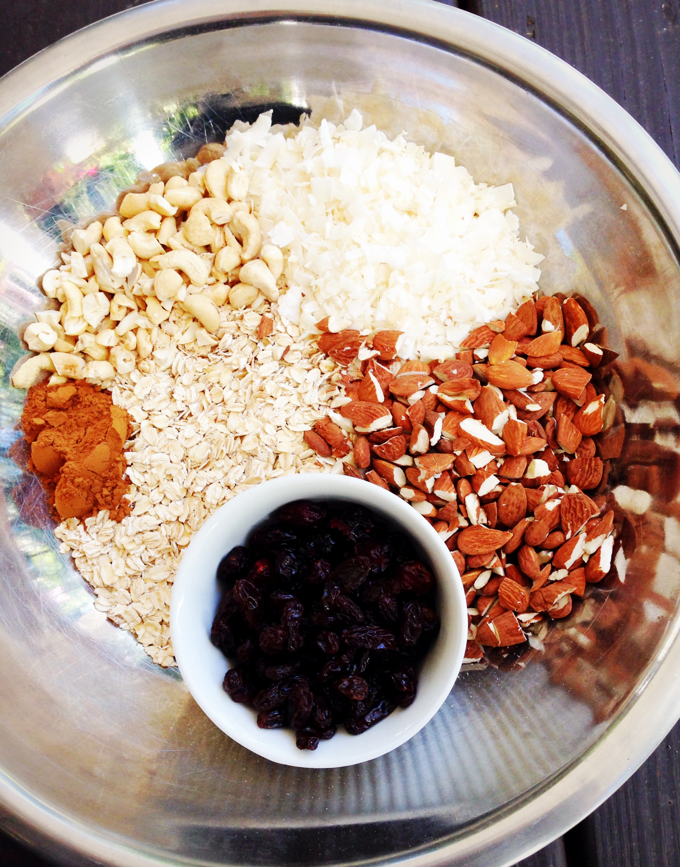 Ingredients for Granola