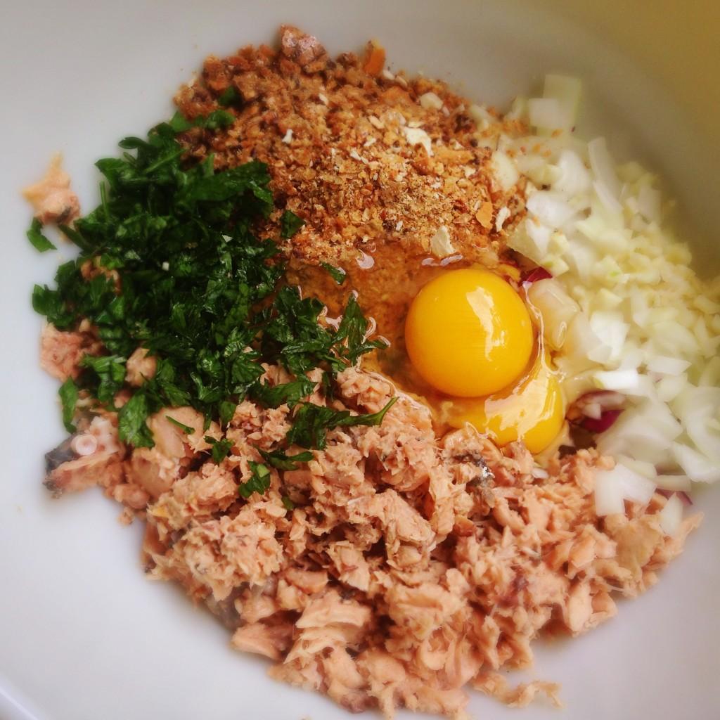 Salmon Patties Ingredients