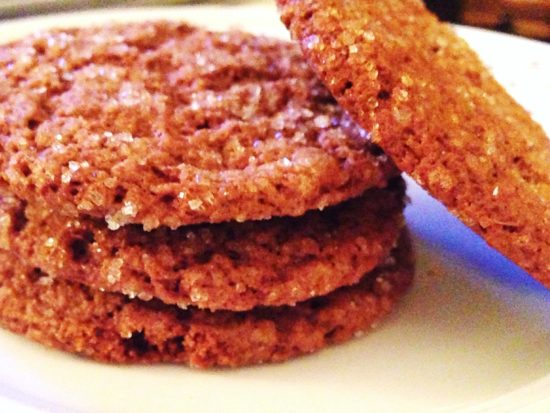 Gingersnaps-crisp and spicy!