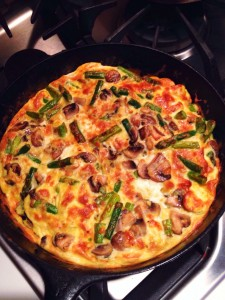 Monthly Round-up, A Viral Post and a Frittata