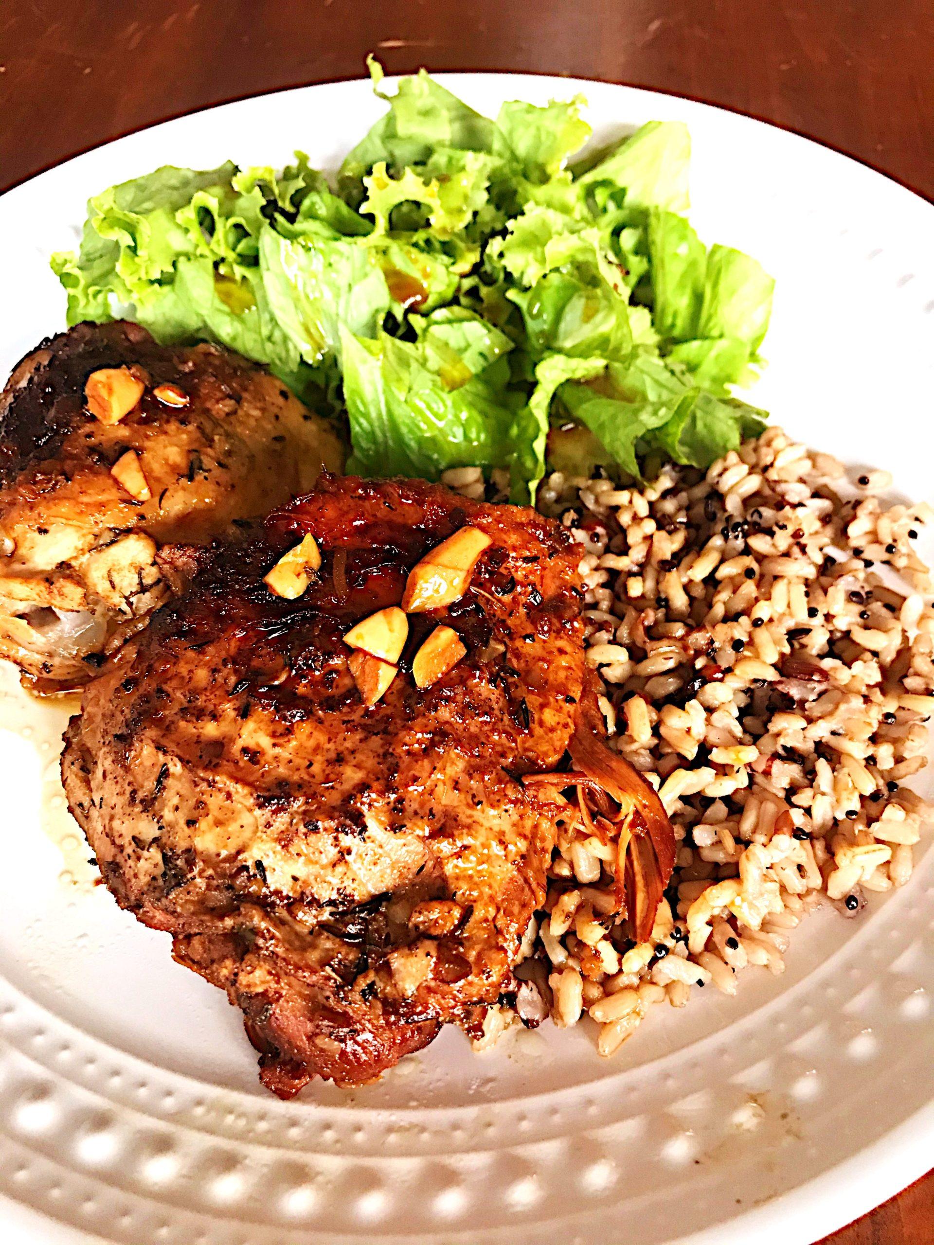 Balsamic Chicken in the Crockpot