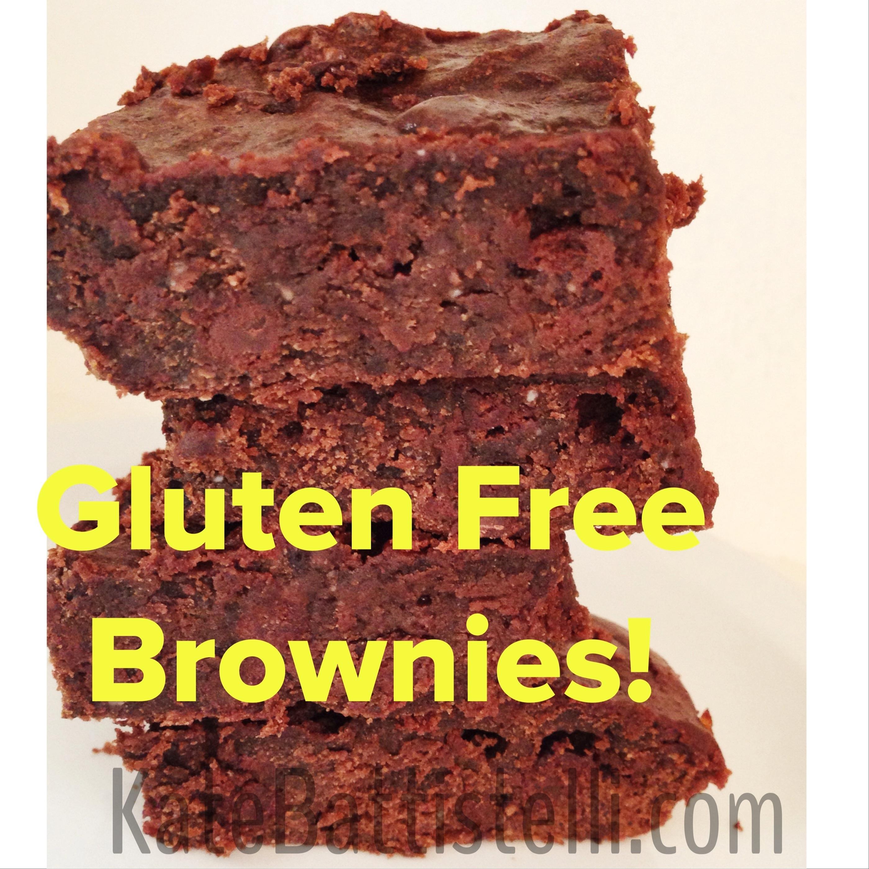 Gluten Free Brownies-Fast, Fudgy & Paleo!