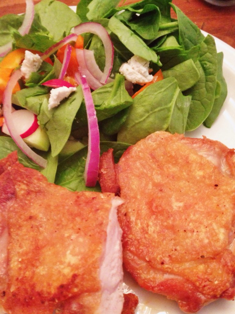 Cracklin' & Crunchy Chicken - Gluten Free & Easy!