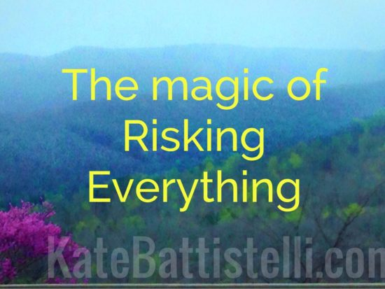 The Magic of Risking Everything