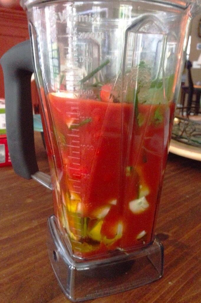 Gazpacho, 2 Recipes, One Red & One White!