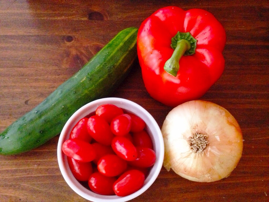 Gazpacho, Two Ways, One Red & One White!