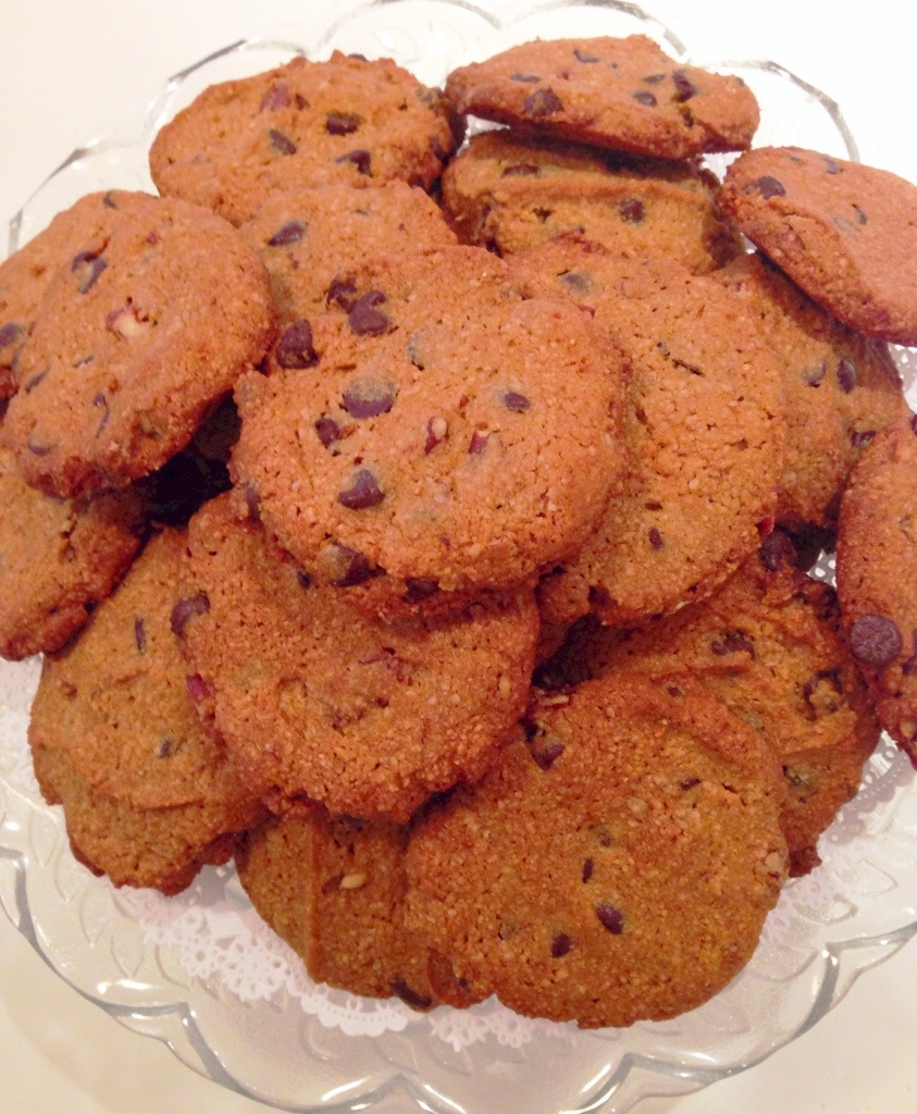 Perfect Gluten free Chocolate Chip Cookies