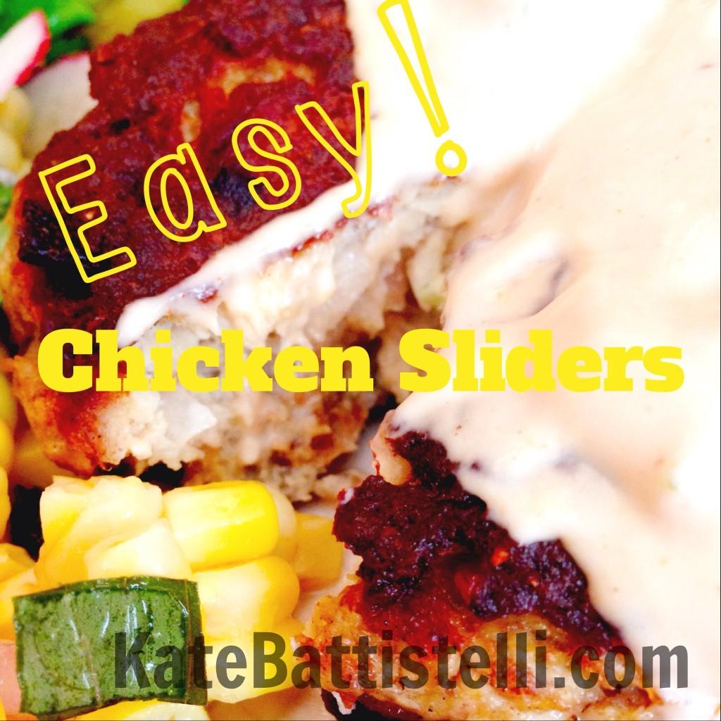 Easy Chicken Sliders