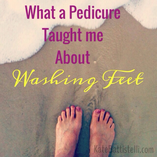 What a Pedicure Taught Me About Washing Feet