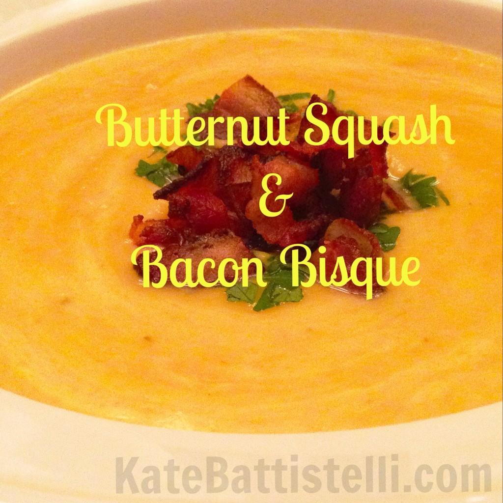 Butternut Squash & Bacon Bisque