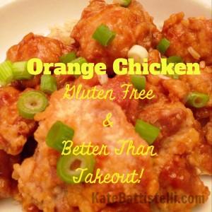 Orange Chicken–Gluten Free