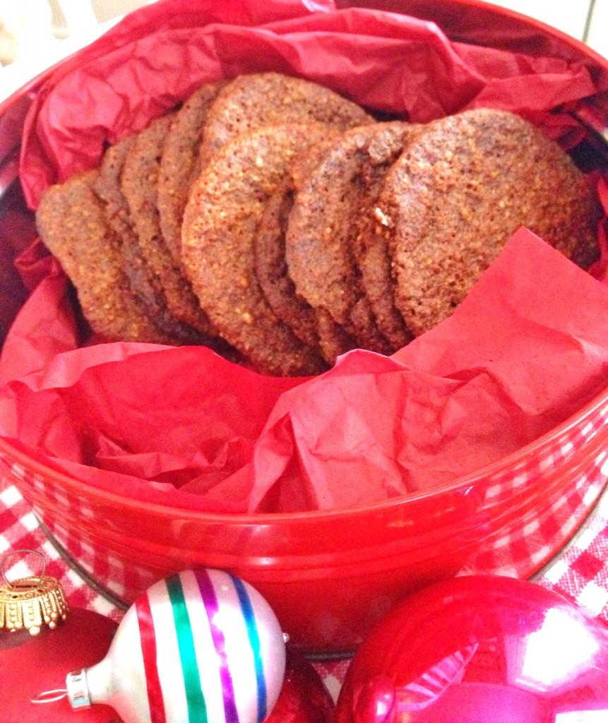Gluten Free Gingersnaps–Crisp & Spicy