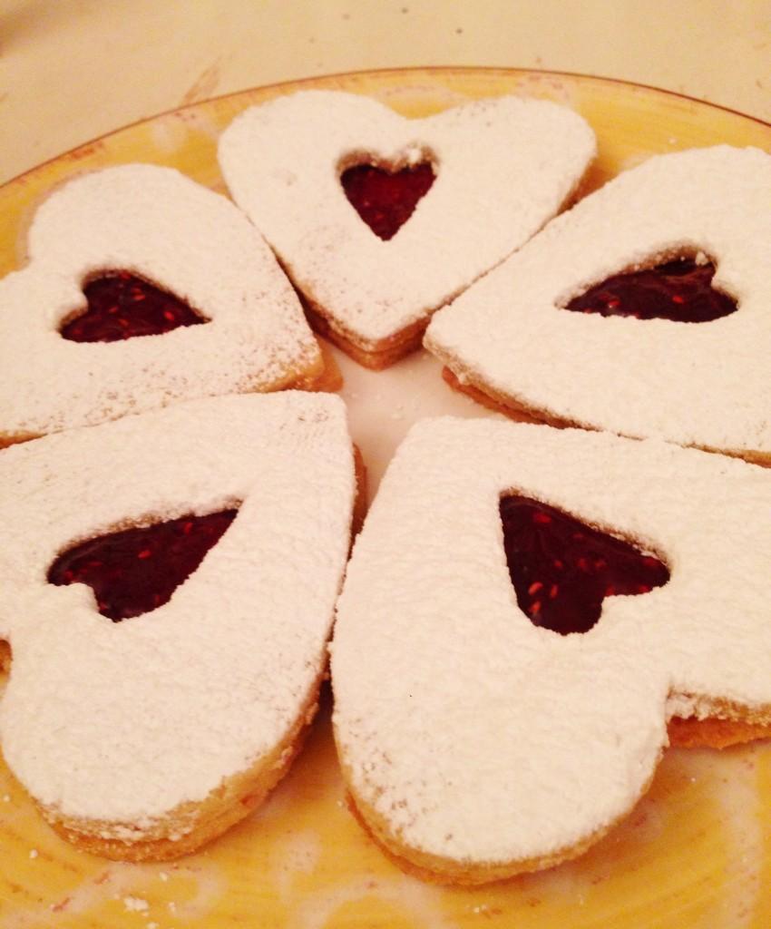 Linzer Hearts–Gluten Free!