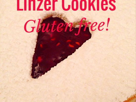 Linzer Cookies–Gluten Free!