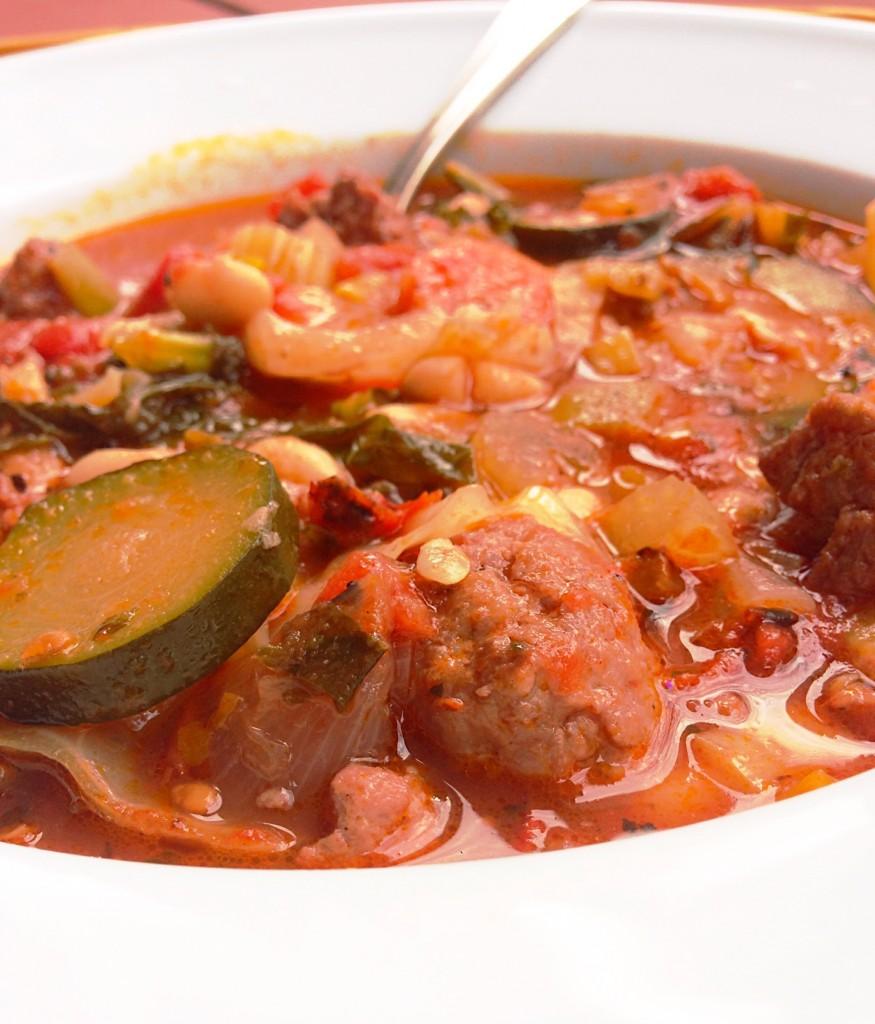 Minestrone Soup - Garden Fresh, Paleo, Gluten Free!